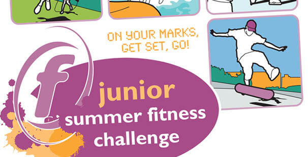 Junior Summer Fitness Challenge logo