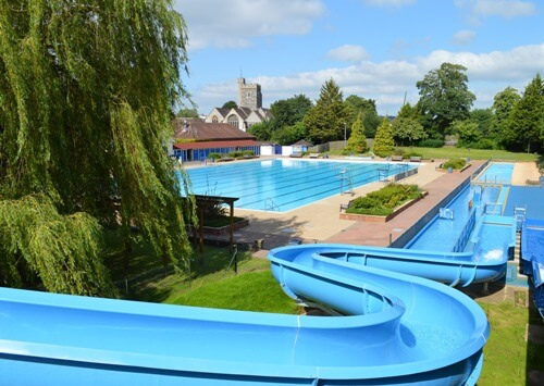 Guildford Lido 50m Outdoor Pool