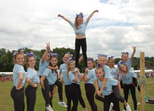 crowborough cheerleading