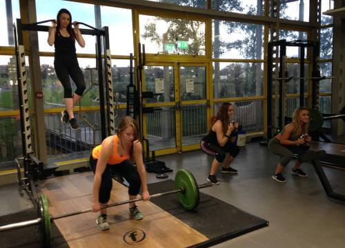 female strength at crowborough leisure centre