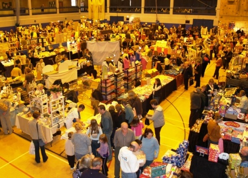 Craft fair at Woking Leisure Centre