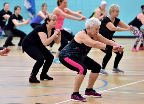 Fitness Classes At Summerfields Leisure Centre
