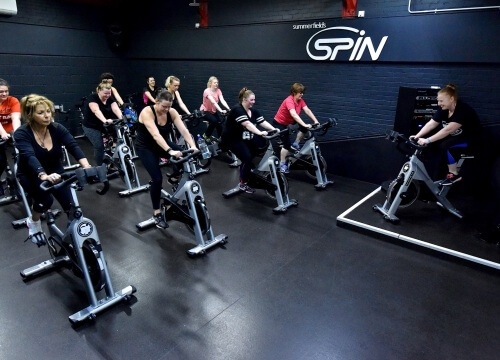Myride Indoor Cycling At Summerfields Leisure Centre