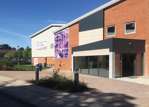 de Stafford Sports Centre | new reception