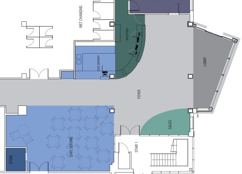 Ground Floor Plan | de Stafford Sports Centre