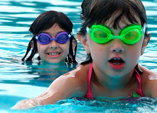 Summerfields leisure centre news for Swimming pool lessons for kids