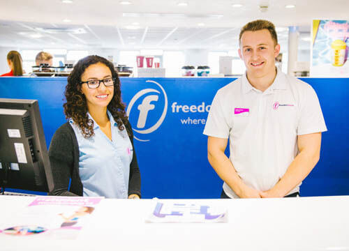 Freedom leisure staff
