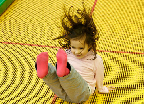 trampoline parties at uckfield leisure centre