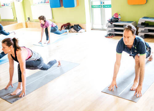 bro yoga at crowborough leisure centre