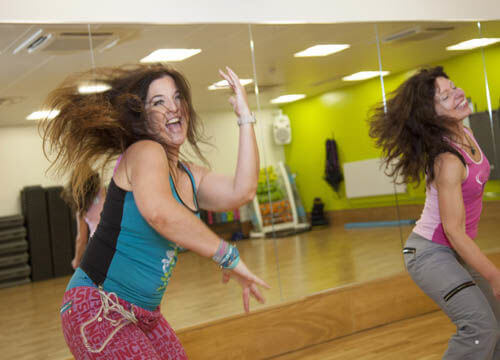 zumba class at crowborough leisure centre