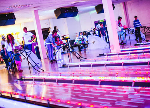 Private group tenpin bowling booking at Hailsham Leisure Centre