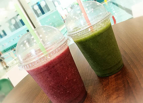 Love Smoothies! Delicious & Nutritious! (Left: Detox-zing, Right: Broccoli & the beast)