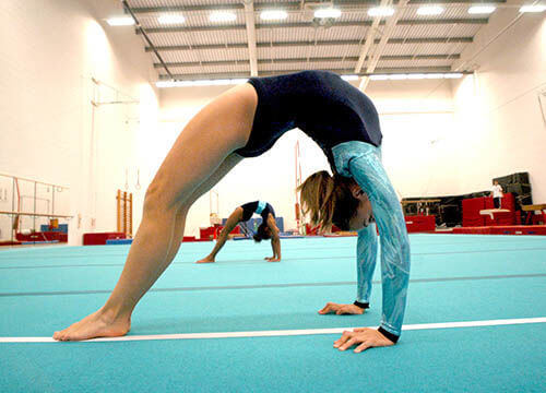 junior gymnastics Crowborough leisure centre