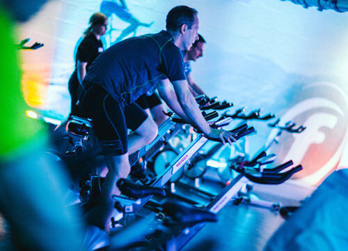 Group Exercise Classes Indoor Cycling