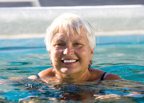 Free swimming for over 75's and under 16's