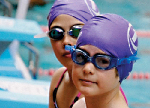 Children's swimming lessons at Freedom leisure