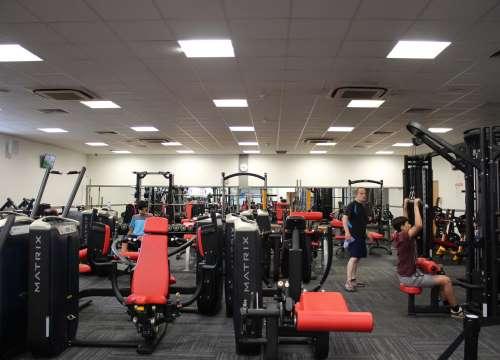 stafford leisure centre gym