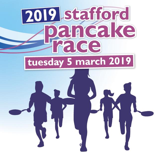 Stafford Pancake Race 2019